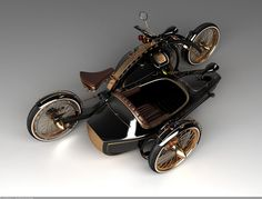 Mikhail Smolyanov from Moscow makes concept cars and motorcycles designs which are getting more and more popular abroad