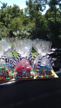 Monster Truck Party Favors!
