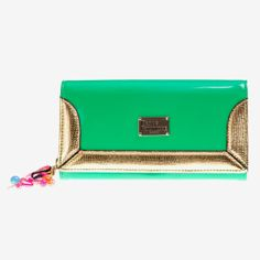 Paul's Boutique - Beth Tulip Colour-Block Purse – Green
