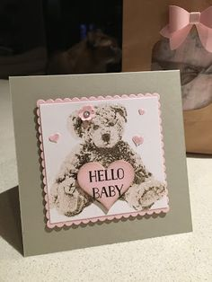 KeepStamping: Stampin' Up! Baby Bear Hello