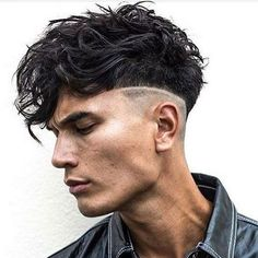 Messy Latest Curly Hairstyles for Men