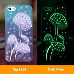 Swarovski Elements Crystal Dark Shine Hard Case for iPhone 5 - Dark Blue, Beautiful & Sumptuous