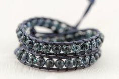 Love this leather wrap bracelet...anyone know how to make one?!