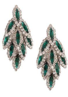 Emerald and Diamond Earrings Harry Winston