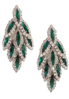 Emerald and Diamond Earrings Harry Winston