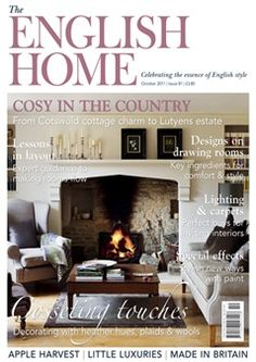 The English Home. one of my favorite magazines ever.