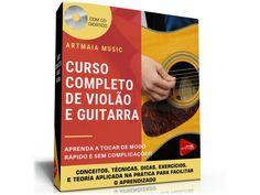 CURSO COMPLETO DE VIOLÃO E GUITARRA - Via Download Material Didático, Download, Major Scale, Music Teachers, Sheet Music