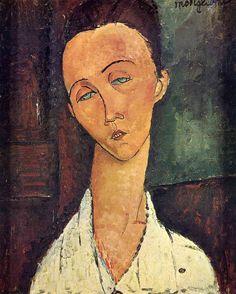 Portrait of Jeanne Hebuterne in a Blue Chair - Amedeo Modigliani - WikiArt.org