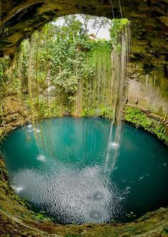 Cenote-Azul outside of Cancún - need to remember this place next time I'm in Mexico