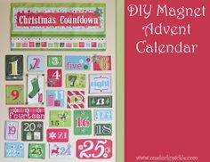 Magnet Advent Calendar