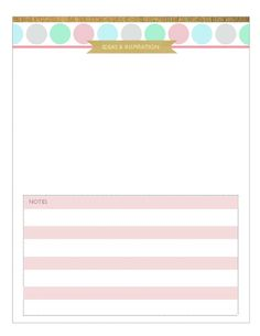 Your Free Printable 2015 Planner