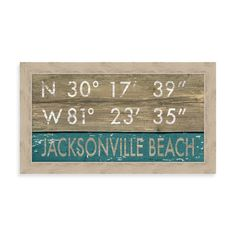 How to stencil driftwood using nautical stencils diy diy diy diy product image for jacksonville florida coordinates framed wall art solutioingenieria Image collections