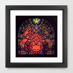 Sage of Fire Framed Art Print by Joshua A. Biron - $30.00