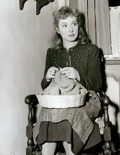 One More Stitch: Famous Knitters - Greer Garson