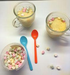 Mug Cakes/Tassenkuchen schnell lecker einfach mit wenig Zutaten