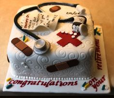 Nurse Retirement cake by Angels Cupcakes, via Flickr