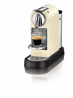 M190 Cream Citiz Nespresso Coffee Machine