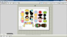 TUTORIAL: How to make Magnetic Bookmarks with Silhouette Studio by print...