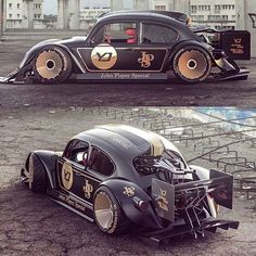 A hot rod is a specific type of automobile that has been modified to produce more power. Weird Cars, Cool Cars, Carros Vw, Shelby Gt 500, Kdf Wagen, Automobile, Vw Cars, Sweet Cars, Modified Cars