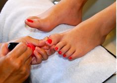A Pedicure to Remember!