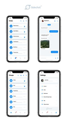 Includes both PSD iPhone X Wireframe, you can hide the iphone x to make it appear. This work has been made with Adobe Photoshop. Mobile Ui Design, App Ui Design, Web Design, Ios Ui, Ui Ux, Mobile Chat App, App Home, Ui Design Inspiration, Application Design