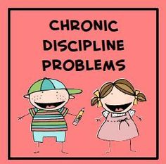 Classroom management tips for elementary teachers. Tips to use with your chronic discipline problems.