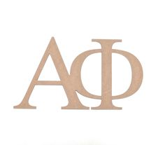 alpha phi paintable wooden letters by mossijossi httpwwwmossijossicom