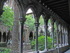 Barcelona Santa Anna, claustre