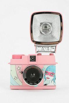Lomography X Tara McPherson Mini Diana Flash Camera #urbanoutfitters