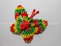 Chinese knot butterfly is one of the animal shape crafts you can make with chinese knotting / macrame method. This knotted butterfly such as shown...