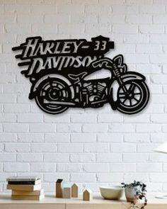 Harley Davidson  Metal Plaka - Harley Davidson