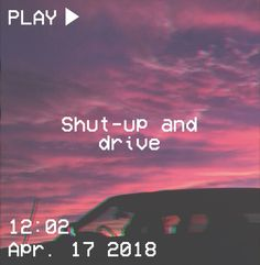 M O O N V E I N S 1 0 1 #vhs #aesthetic #drive #pink #purple #clouds #car #glitch #quote #clouds #sky If you want a vhs edit please message me the following: -A picture (which you want to be edited) -A time and date -A certain quote/name (optional)