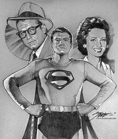 Phyllis Coates Bound | Superman / Clark Kent..... George Reeves