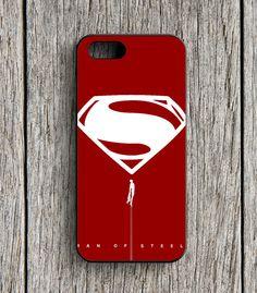 Superman Logo Superheroes iPhone 5   5S Case