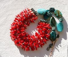 Coral Jewelry, Handcrafted Jewelry, Crochet Earrings, Copper, Pretty, Ethnic, Necklaces, Jewellery, Accessories
