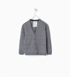 ZARA - KIDS - Knit jacket with buttons