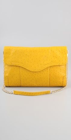 bright yellow clutch