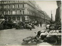 France, Libération de Paris #Guerres_conflits #Guerre_39_45_World_War_II