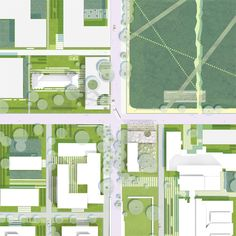 Competition: 3rd prize  Client: BBB Management GmbH, Campus Berlin-Buch  Program: Education, Research, Commercial  Campus area: 32 ha  Team SMAQ: Sabine Müller, Andreas Quednau, Robert Gorny, Aron Thorsén, Marie-Louise Raue, Anna Kostreva  In Collaboration With: HL Landschaftsarchitekten