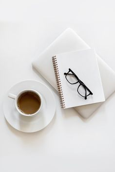 Flat lay with coffee and notebook ~ Business Photos ~ Creative Market Coffee Photography, Photography Business, Lifestyle Photography, Photography Women, Travel Photography, Breakfast Photography, Photography Outfits, Photography Studios, Photography Aesthetic