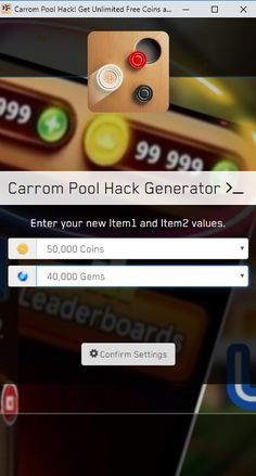 Carrom Pool Hack — Get Free Gems and Coins for Android and iOS Carrom Pool Hack and Cheats — You Can Get 9999999 Gems and Coins No Human Verification Carrom Pool Hack 2020 Updated — Unlimited Free… Carrom Board Game, Pool Coins, Pool Hacks, App Hack, Free Android Games, Game Resources, Game Update, Free Gems, Hack Online