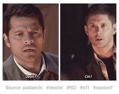 It was Cas for about three seconds