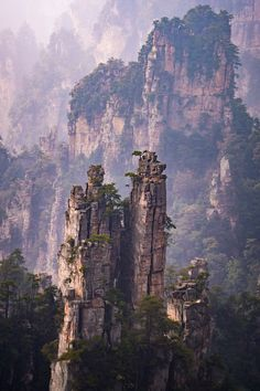 Zhangjiajie National Park, China. 30 photos that will make you pack your bags and go! #GlobalGirlTravels