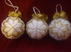 Vianočné gule / milosiatko - SAShE.sk - Handmade Dekorácie