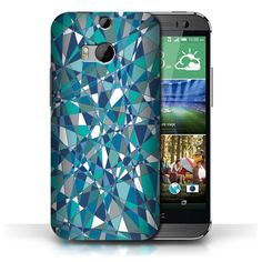 STUFF4-Back-Case-Cover-Skin-for-HTC-One-1-M8-Teal-Fashion