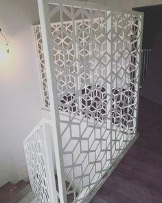 Lasercut fence Fence, Divider, Metal, Modern, Room, Furniture, Design, Home Decor, Bedroom