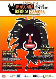 V Festival de la Máscara Ibérica de Zamora, del 20 al 22 de septiembre