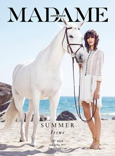 Air France Madame June/July 2015 Cover