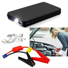 12V 20000mAh MultiFunction Car Jump Starter Power Booster Battery Charger FSS * Continue to the product at the image link.