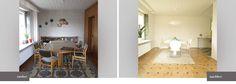 Home Staging Altbau Esszimmer